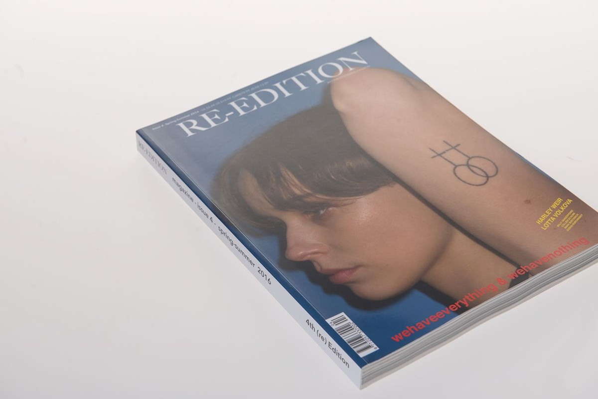 Re-edition - Printed by die Keure